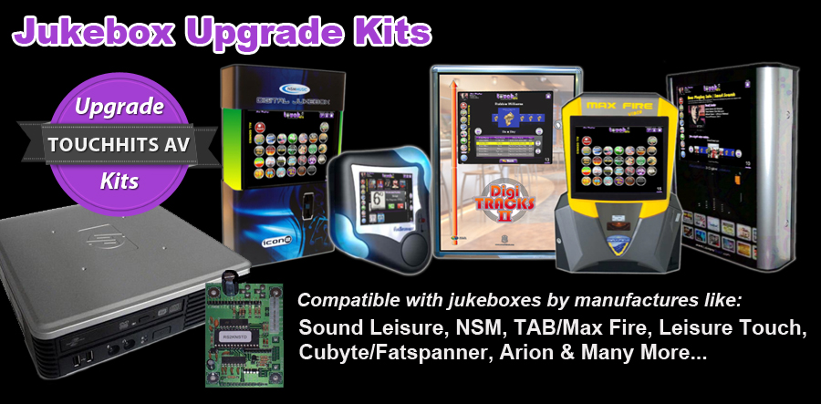 Brand New Jukebox Upgrade Kits Now Available